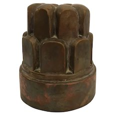 Antique English Copper Mold, Jones Bros.