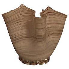 Authentic Murano Handkerchief Vase