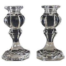Vintage,  Gorham Crystal Candle sticks