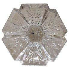 Vintage Crystal Dish