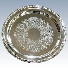 Vintage Silver Plate Oneida Serving Tray