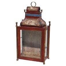 18th Century Baroque Portuguese Toleware Lantern