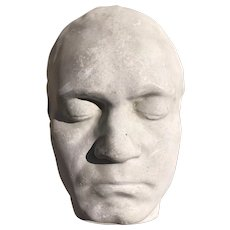 1950s Beethoven Plaster Death Mask, French