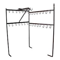 Baroque Butcher's Rack, Wrought Iron, 18th Century, Portugal