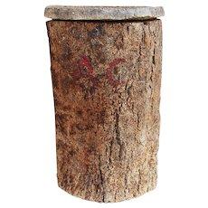 19th Century Antique Portuguese Cork Oak Beehive