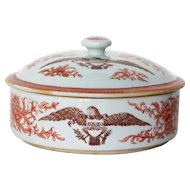 American Tureen with Coat of Arms of the United States, Monogram BSP