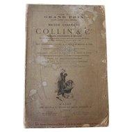 Vintage Medicine / Medical Instruments Catalog / Book, (French Version) Maison Charrière Collin & Cie Fabricants D'instrument de Chirurgie, Paris, 1879