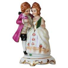Meissen Style, Porcelain Figurine Couple, Marked: Vista Alegre, Portugal