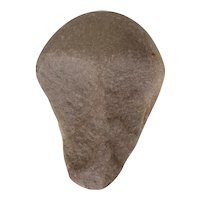 Neolithic Stone Axe depicting a Human Skull, Carved Stone, ca. 2900 BC, Iberian Peninsula
