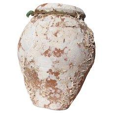 19th Century Antique Terracotta Octopus Trap, Octopus Terracotta Undersea Pot