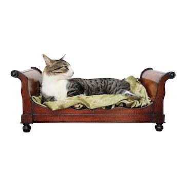 Original 18th Century, Baroque Cat Bed, Portuguese