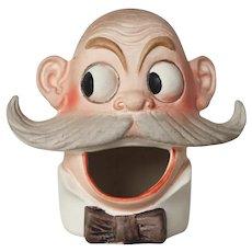 Original Porcelain Bisque Figurine by Schafer & Vater, Match Holder