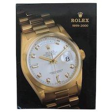 Rare Original Rolex Catalog 1999-2000