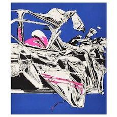 Renée Gagnon, 1974, Pop Art Limited Edition Serigraph Hand Signed 35/200