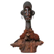 Unidentified Fetish Figurine, African Tribe, Early 20th Century
