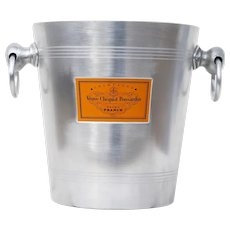 Vintage French Champagne Veuve Clicquot Ponsardin Ice Bucket, Cooler