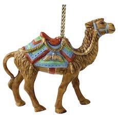 Lenox 1989 Carousel Camel Christmas Tree Ornament