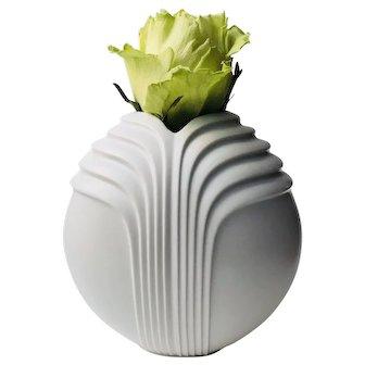Rosenthal Studio-linie Minimalist White Vase Rosemunde Nairac Design 3576/18