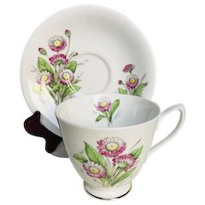 Royal Albert Tea Cup & Saucer April Daisy Flower of the Month