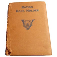 1944 Food Ration  Books with Cover
