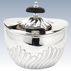 Victorian Silver Tea Caddy 1897