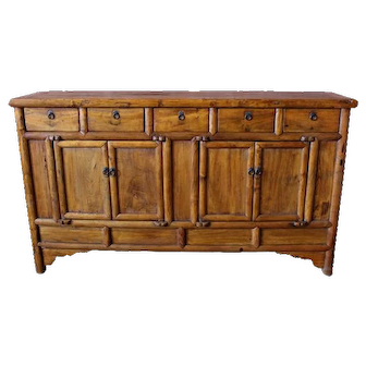 Five Drawer Buffet Table