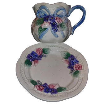 Fitz and Floyd Teacup and Saucer