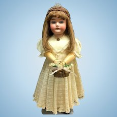 "24"" QUEEN LOUISE c.1915 - Armand Marseille - Beautiful - Antique German Bisque Head Doll"