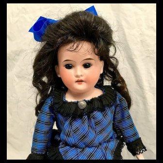 "15"" PETER SCHERF DOLL - Darling Antique German - Bisque Head / Kid Leather Body"