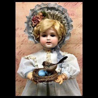 c.1900s Limbach French-Market - W 1772 Antique Doll - Greiner Bisque Head German