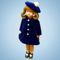 "1930s DEWEES COCHRAN - 20"" American Children - Original Effanbee Composition Anne Shirley Character Doll"