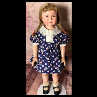 "1930s DEWEES COCHRAN American Children 19-20"" - Effanbee Character Antique Doll"