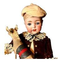 "Rare 17"" Toddler/Boy K*R Simon & Halbig - From the RUTH GABORKO COLLECTION - Antique German Doll 127-32"