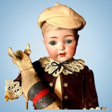 "Rare 17"" Toddler/Boy K*R Simon & Halbig - From the RUTH GABORKO COLLECTION - Antique German Doll 127-32"