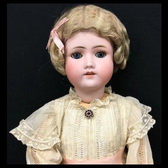 """24"""" Early C.M. Bergmann / Simon Halbig Doll - Antique Bisque Head German CM S&H"""