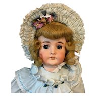 "26"" Karl Hartmann Antique Doll - c.1917 Bisque Head German"
