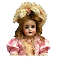 "c.1870s Early Bahr & Proschild 19"" Bébé - # 224 Antique Doll - Bisque Head German Bebe"