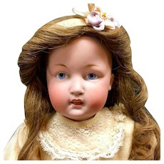 """Rare Kestner 18"""" ART CHARACTER DOLL 180 Open-Closed Mouth Antique Bisque German"""