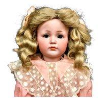 ORIGINAL MEIN LIEBLING Doll - REGINA STEELE Collection - Closed Mouth K*R Antique Simon Halbig 117/a 117A 117 - Kammer & Reinhardt S&H Bisque Head German Mien