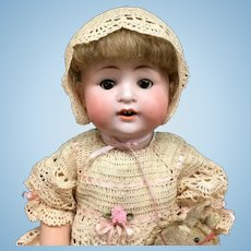 "c.1890 Early CM Bergmann 16"" SPEZIAL Antique Baby Doll - Bisque Head German C M"