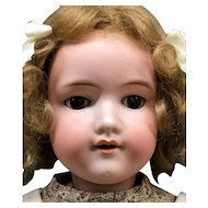 "24"" Antique Armand Marseille Doll - 390n 246/1 7 1/2 - Bisque Socket Head German"