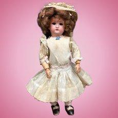 "Rare Early 13"" CABINET-SIZE JUTTA c.1880s-1890s - Simon & Halbig # 1349 - S&H Antique Bisque Head German Doll"