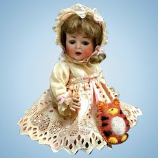"William Goebel 14"" W/G B5-1 CHARACTER BABY Doll - Antique Bisque-Head German B51 B5 G/W"