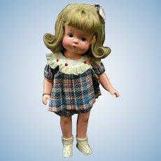 "14"" Effanbee Patricia / Patsy - Amazing ALL ORIGINAL Vtg c.1930s Composition Doll"