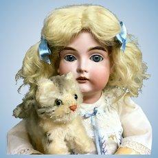 "21"" Alphabet Kestner # 167 F 10 Antique Doll - SO BEAUTIFUL - Bisque Head German"