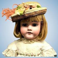 "25"" Walküre 13 Doll - Kley & Hahn / JD Kestner - Antique Bisque-Head German Walkure"