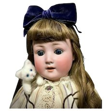 "24"" Schoenau & Hoffmeister - # 1909 6 - Bisque Head Antique German Doll - PB-in-Star"