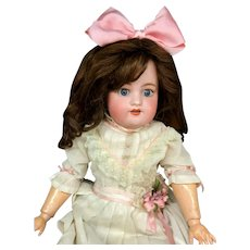 "23"" Simon & Halbig 570 - SWEET! - Antique Bisque-Head German Doll"