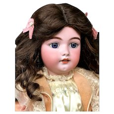 "25"" Simon & Halbig 1079 / 13 Character Child Doll - Antique-Bisque Head German"