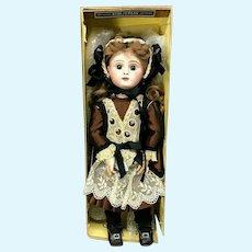 "Jumeau 19"" Paris Bebe 8 - WITH ORIGINAL BOX - Closed-Mouth - Paris Stamped Body - Antique Doll"